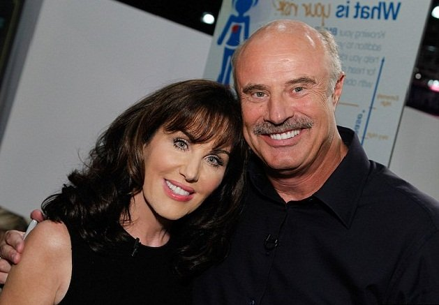 Robin McGraw and Dr. Phil