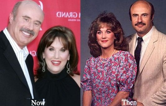 Robin McGraw then and now