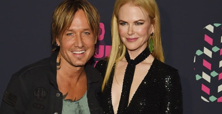 Keith Urban with his wife Nicole Kidman