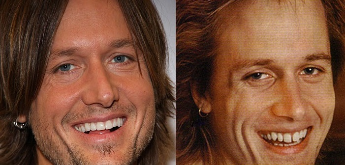 Keith Urban's dental work